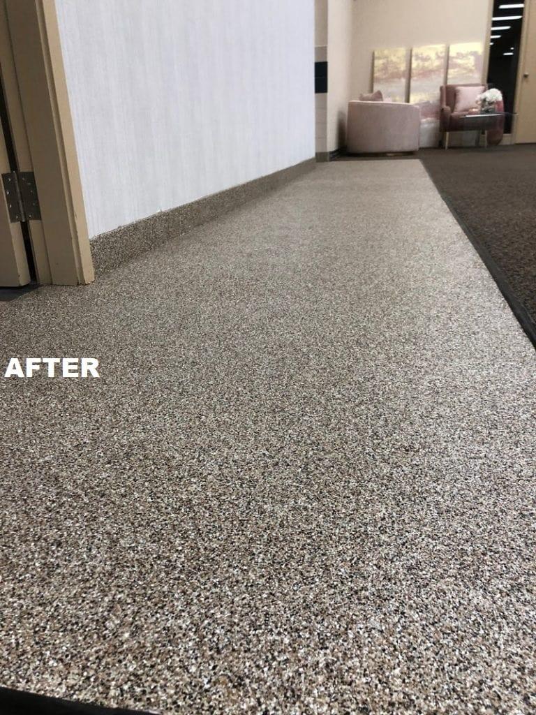 Epoxy Flooring in Edmonton - After implementation